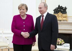 Angela Merkel z wizytą w Moskwie