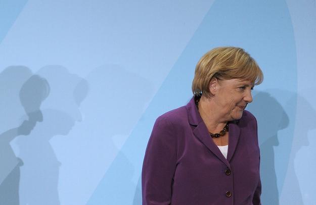 Angela Merkel zapowiedziała dokapitalizowywanie banków zagrożonych krajów strefy euro /AFP