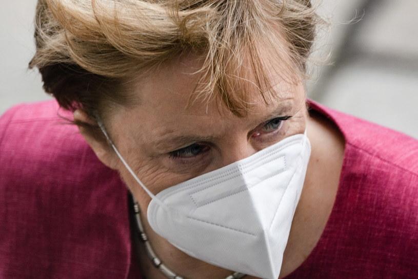 Angela Merkel zaszczepiona przeciw COVID-19 /Clemens Bilan /PAP/EPA