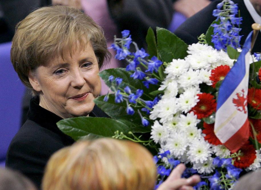 Angela Merkel została kanclerz Niemiec w 2005 roku /PEER GRIMM /PAP/EPA