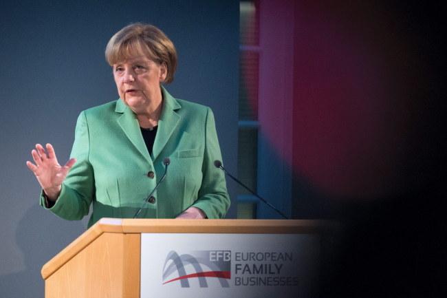 Angela Merkel /PAP/EPA/Bernd Von Jutrczenka /PAP/EPA