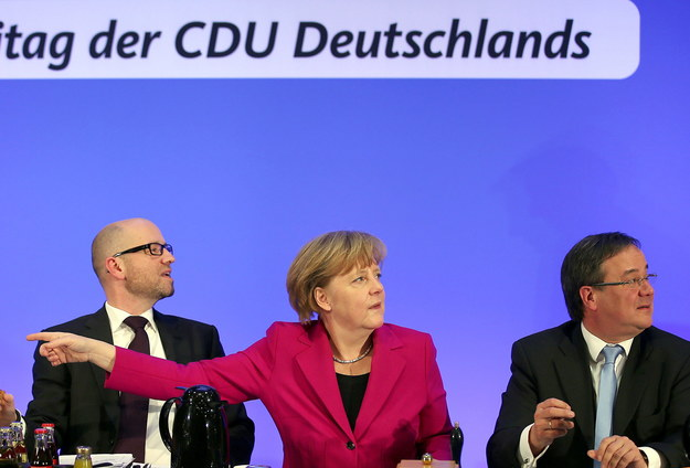 Angela Merkel /OLIVER BERG /PAP/EPA