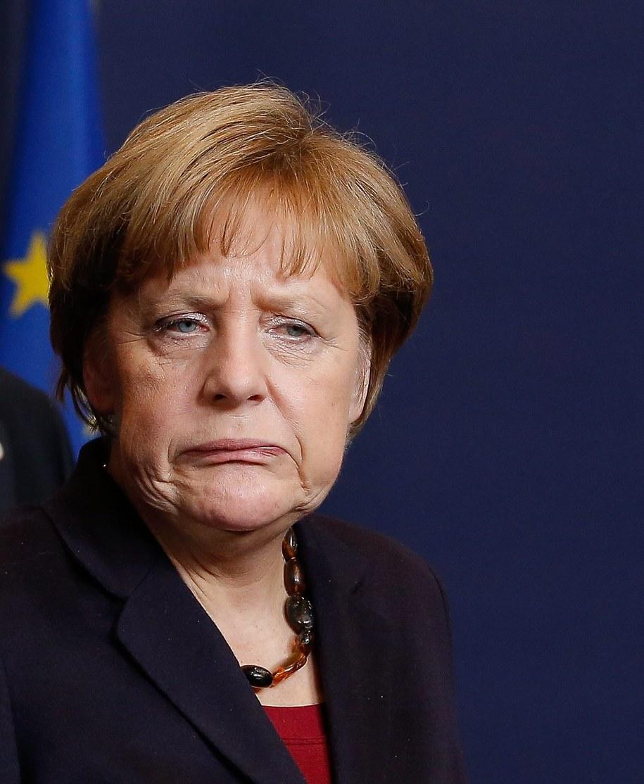 Angela Merkel /JULIEN WARNAND /PAP/EPA