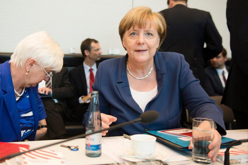 Angela Merkel /GREGOR FISCHER /PAP/EPA
