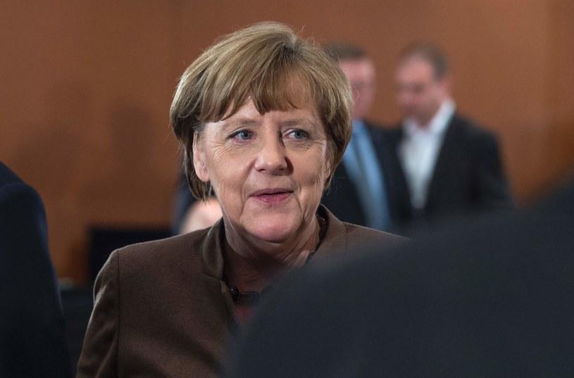 Angela Merkel /JOHN MACDOUGALL /AFP