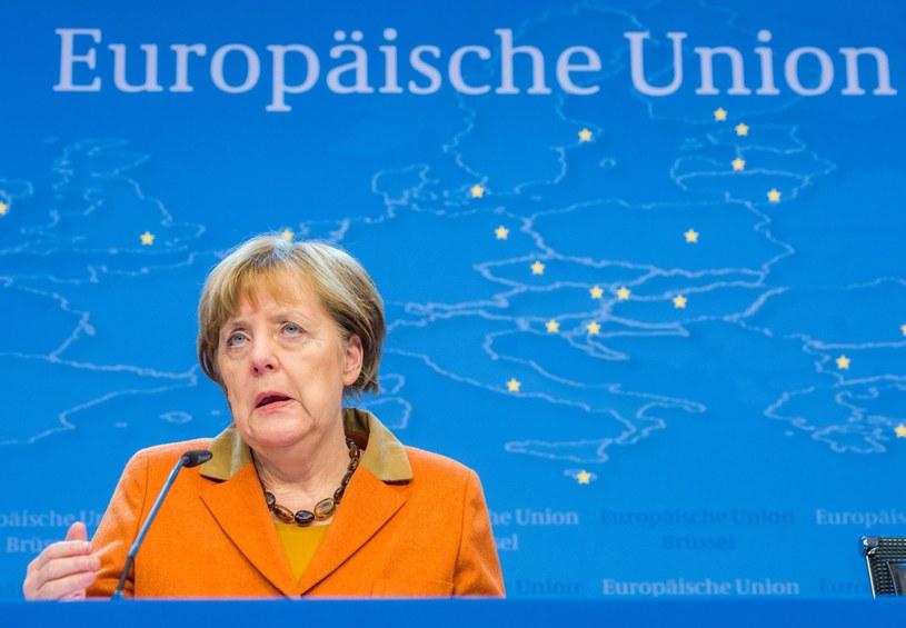 Angela Merkel /STEPHANIE LECOCQ  /PAP/EPA