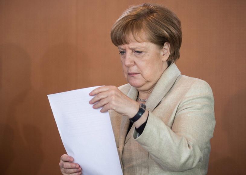 Angela Merkel /PAP/EPA