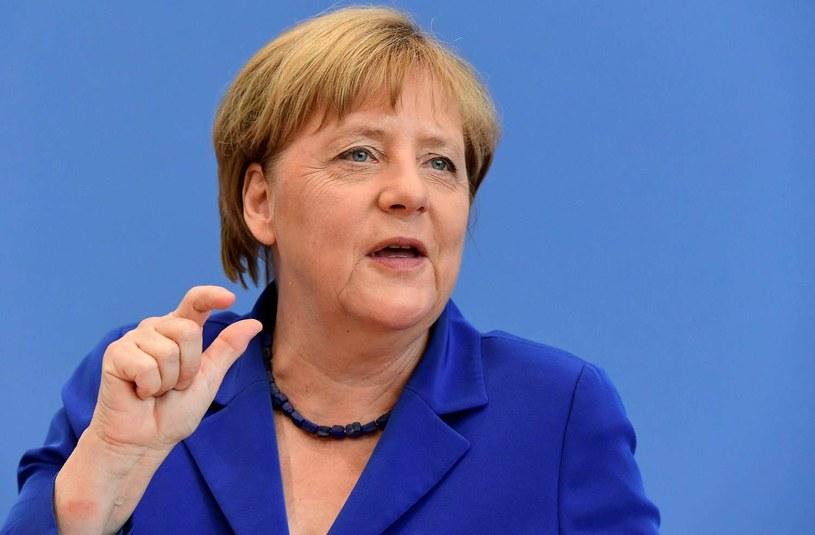 Angela Merkel /TOBIAS SCHWARZ /AFP