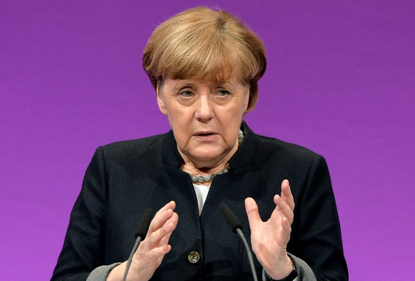 Angela Merkel /Sascha Steinbach /PAP/EPA