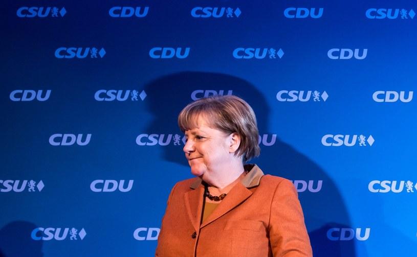 Angela Merkel /LUKAS BARTH /PAP/EPA