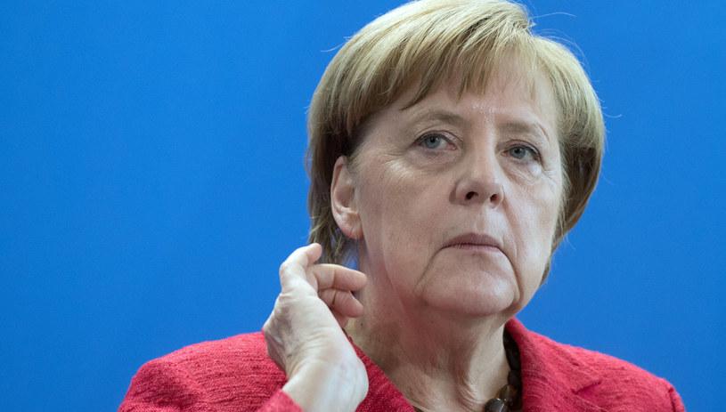 Angela Merkel /Soeren Stache    /PAP/EPA