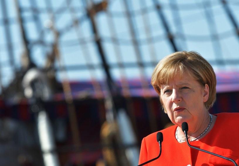 Angela Merkel /TIZIANA FABI /AFP
