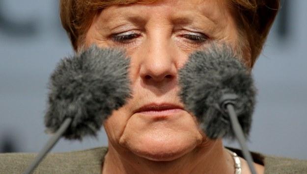 Angela Merkel /FOCKE STRANGMANN /PAP/EPA