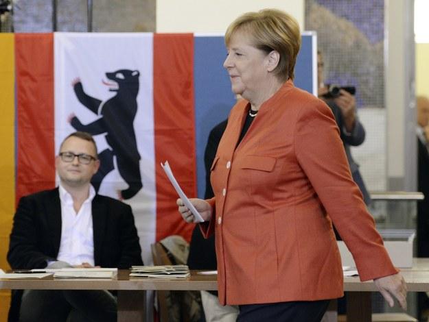 Angela Merkel /Daniel Kopatsch /PAP/EPA