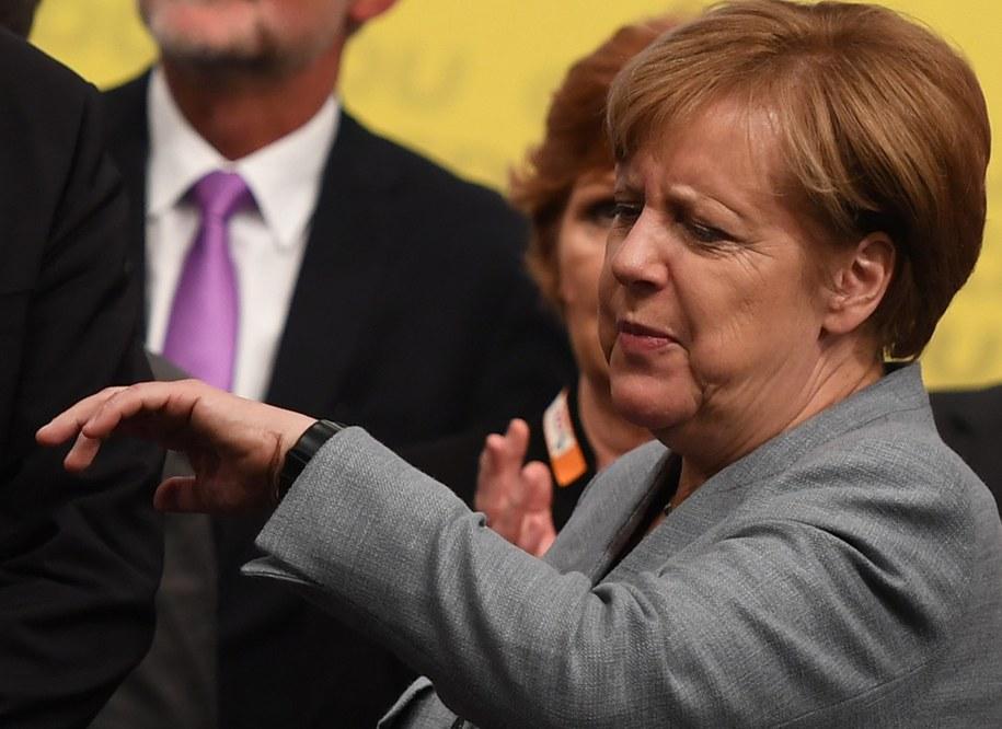 Angela Merkel /David Hecker    /PAP/EPA