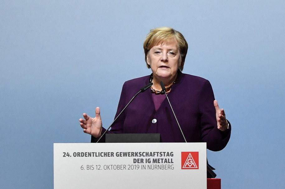 Angela Merkel /Philipp Guelland /PAP/EPA