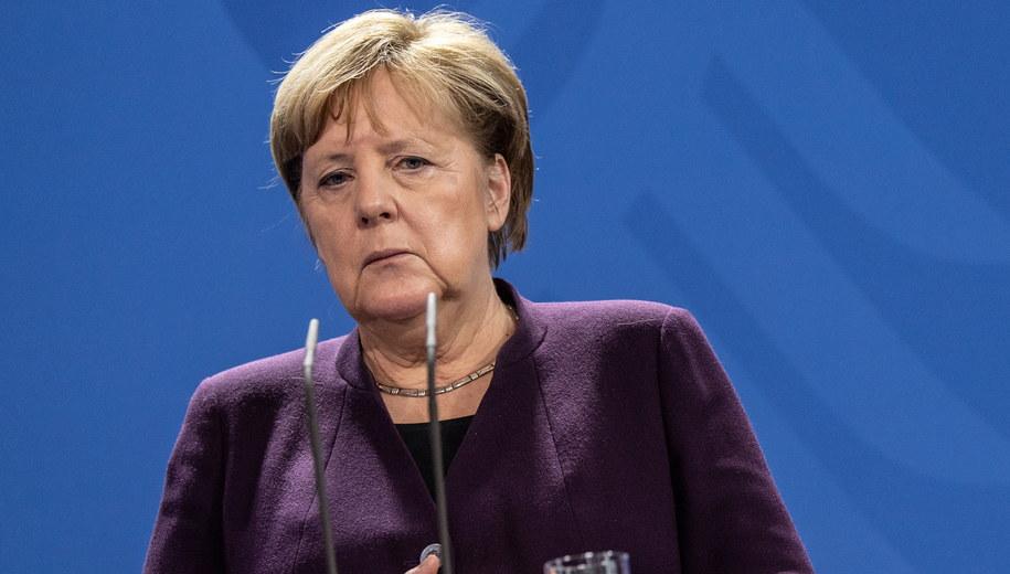 Angela Merkel /FILIP SINGER /PAP/EPA