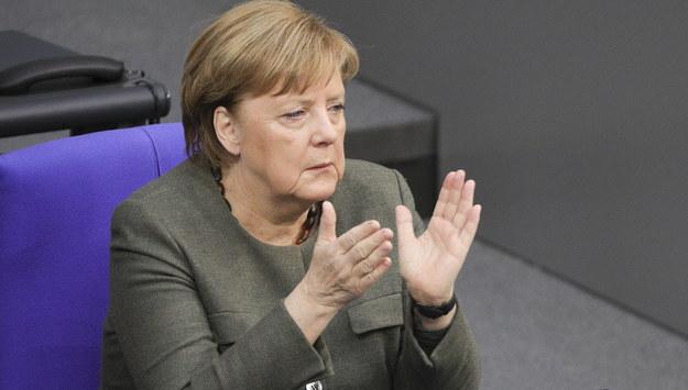 Angela Merkel /OMER MESSINGER  /PAP/EPA