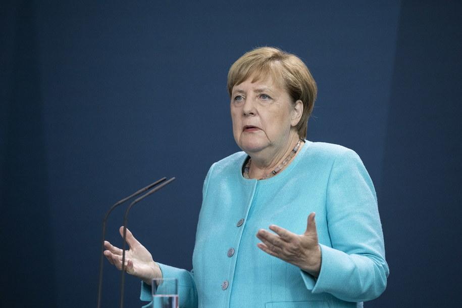 Angela Merkel /MAJA HITIJ  /PAP/EPA