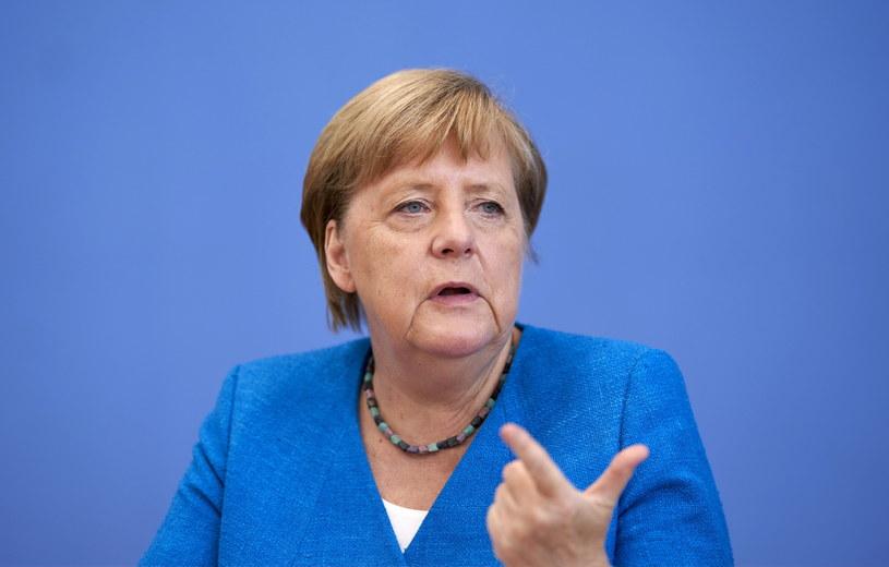 Angela Merkel /HENNING SCHACHT /PAP/EPA