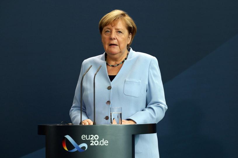 Angela Merkel /MIKA SCHMIDT / POOL /PAP/EPA
