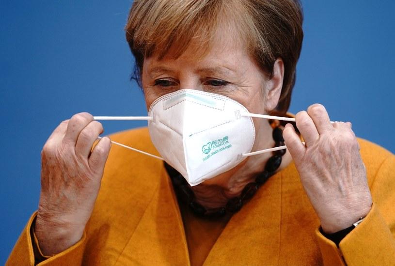 Angela Merkel /Kay Nietfeld  /AFP