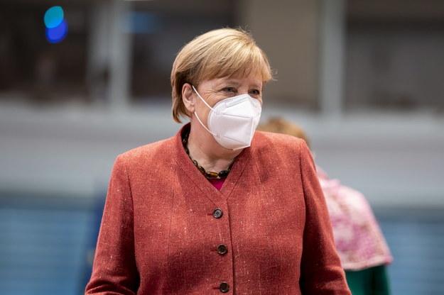 Angela Merkel /HENNING SCHACHT / POOL /PAP/EPA