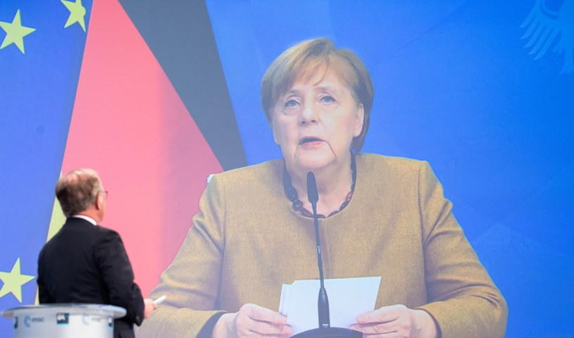 Angela Merkel /MSC / MUELLER HANDOUT  /PAP