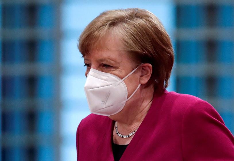 Angela Merkel /HANNIBAL HANSCHKE /AFP