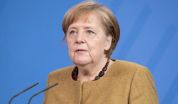 Angela Merkel /Andreas Gora - Pool  /PAP/EPA