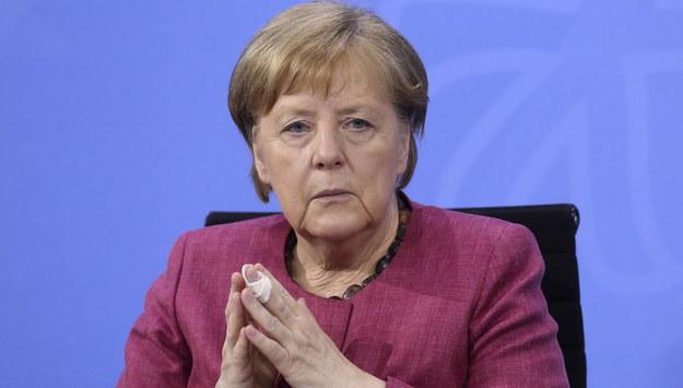 Angela Merkel /ADAM BERRY / POOL    /PAP/EPA