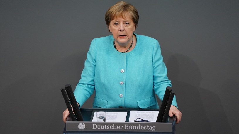 Angela Merkel /Clemens Bilan /PAP/EPA