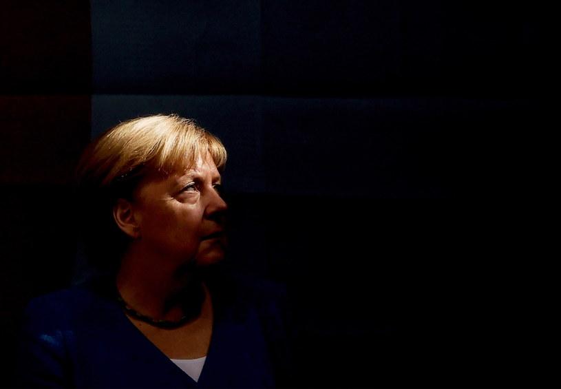 Angela Merkel /Friedemann Vogel /PAP/EPA