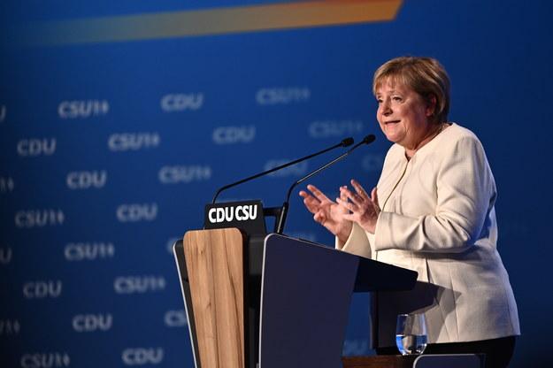 Angela Merkel /LUKAS BARTH-TUTTAS / POOL /PAP/EPA