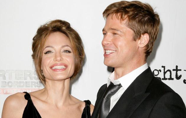 Angelina i Brad  /Splashnews