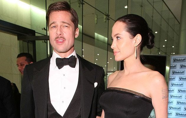 Angelina i Brad, fot. Alexandra Wyman  /Getty Images/Flash Press Media