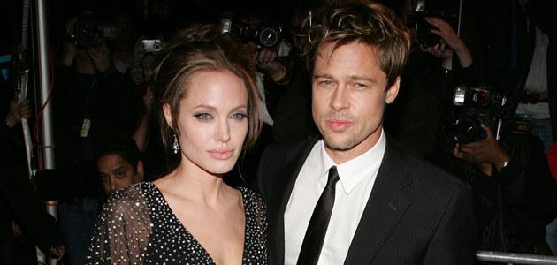 Angelina i Brad, fot. Bryan Bedder  /Getty Images/Flash Press Media