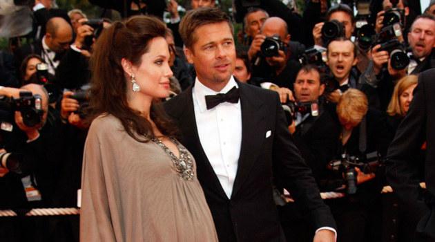 Angelina i Brad, fot. Eric Ryan  /Getty Images/Flash Press Media