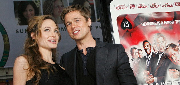Angelina i Brad, fot. Kevin Winter   /Getty Images/Flash Press Media