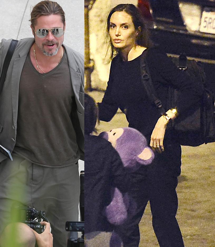 Angelina i Brad nie są już razem /Splash News /East News