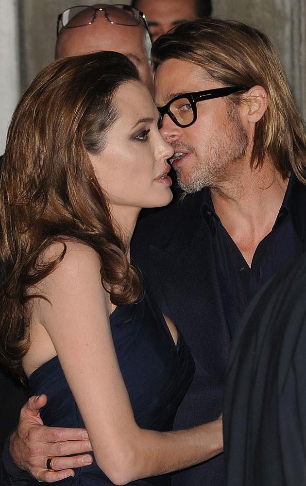 Angelina i Brad wychowanie dzieci stawiają ponad wszystko /Jason Merritt /Getty Images