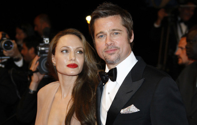 Angelina Jolie, Brad Pitt  /AFP