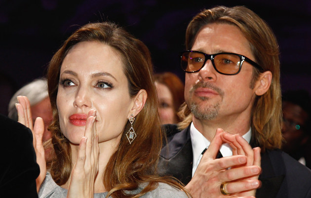 Angelina Jolie, Brad Pitt /Andreas Rentz /Getty Images