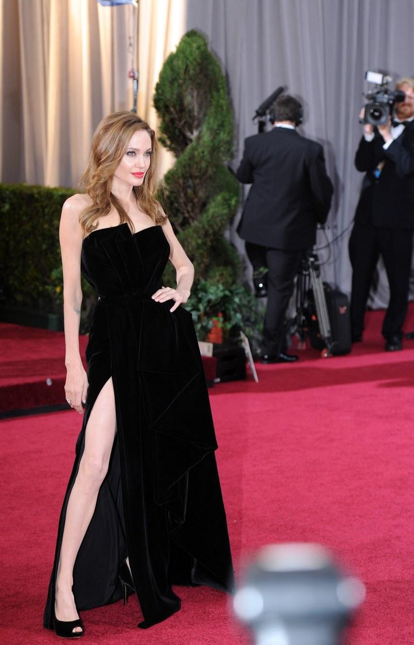 "Angelina Jolie ""grała nogą"" /Yang Lei /East News"
