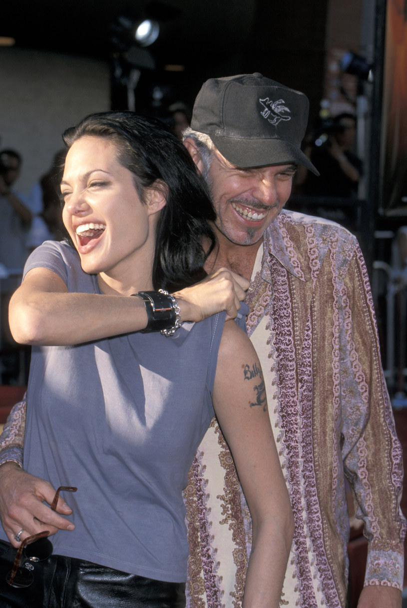 Angelina Jolie i Billy Bob Thronton w 2000 roku /Jim Smeal/Ron Galella Collection /Getty Images