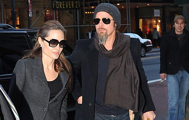 Angelina Jolie i Brad Pitt  /Splashnews