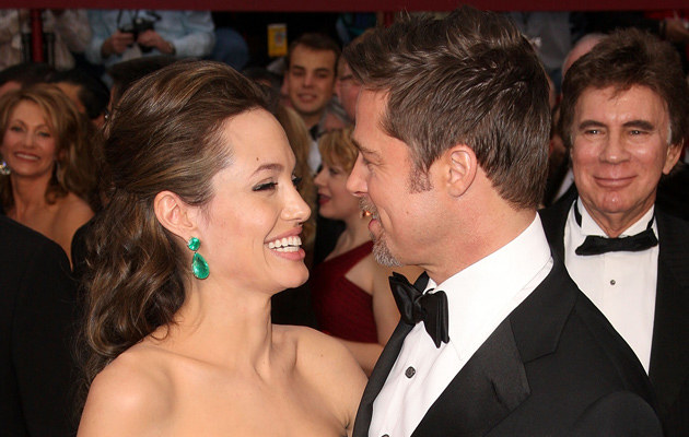 Angelina Jolie i Brad Pitt, fot. Jason Merritt  /Getty Images/Flash Press Media