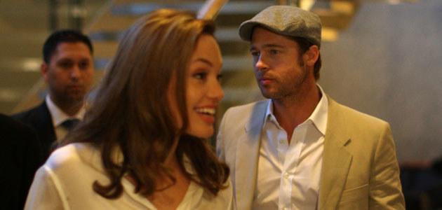 Angelina Jolie i Brad Pitt - fot. Spencer Platt  /Getty Images/Flash Press Media