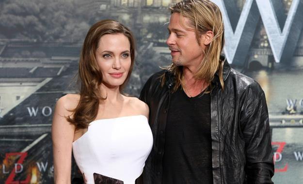 """Angelina Jolie i Brad Pitt na niemieckiej premierze filmu """"World War Z"""", 4 czerwca 2013 /AFP"""