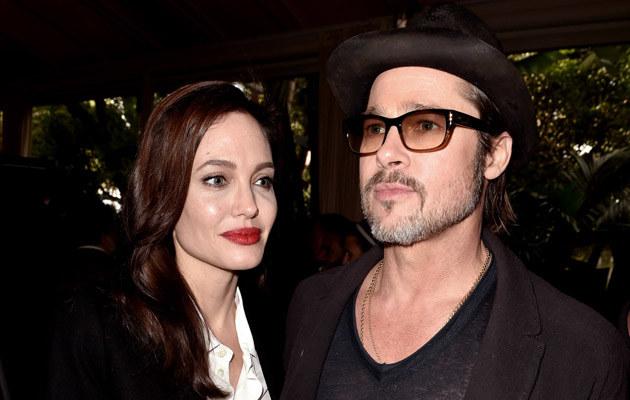 Angelina Jolie i Brad Pitt są małżeństwem od kilku miesięcy /Kevin Winter /Getty Images